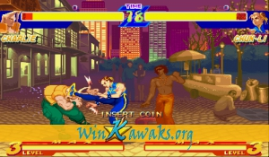 Street Fighter Zero (Asia 950627) Screenshot