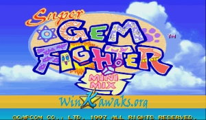 Super Gem Fighter: Mini Mix (Asia 970904)