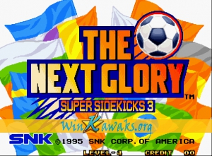 Super Sidekicks 3: The Next Glory  (Misses rasters)
