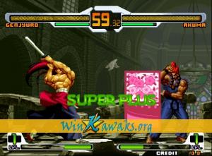 WinKawaks » Roms » SNK Vs  CAPCOM Super Plus (hack) - The Official