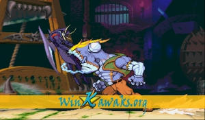 Vampire Savior: The Lord of Vampire (Euro 970519) Screenshot