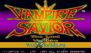 Vampire Savior: The Lord of Vampire (Euro 970519)