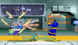 X-Men: Children of the Atom (Japan 950105) Screenshot