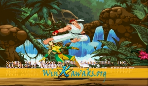 X-Men Vs. Street Fighter (Asia 961023) Screenshot