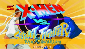 X-Men Vs. Street Fighter (Asia 961023)