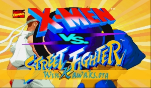 X-Men Vs. Street Fighter (Asia 960910)