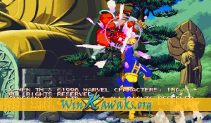 X-Men Vs. Street Fighter (Japan 961023) Screenshot