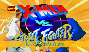 X-Men Vs. Street Fighter (Japan 961023)