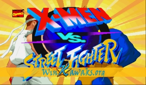 X-Men Vs. Street Fighter (Japan 960910)