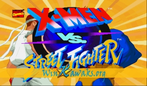 X-Men Vs. Street Fighter (Euro 960910)
